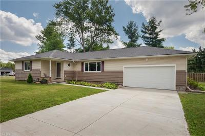 Macedonia Single Family Home Active Under Contract: 1066 Cessna Drive