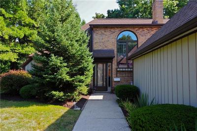 Rocky River Condo/Townhouse For Sale: 22827 Lake Road #5