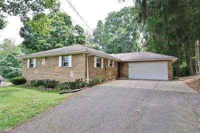 Zanesville Single Family Home For Sale: 1750 Nob Hill Road