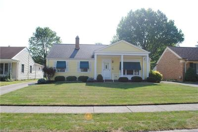 Fairview Park Single Family Home Active Under Contract: 4295 W 202nd Street