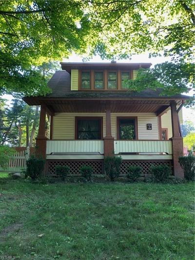 Canfield Single Family Home For Sale: 7814 Tippecanoe Road