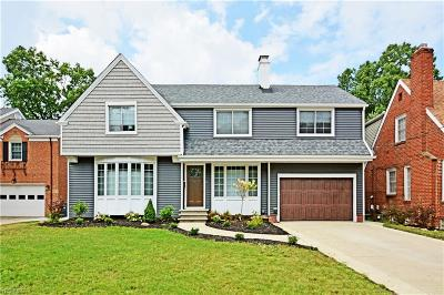Rocky River Single Family Home For Sale: 2266 Valley View Drive