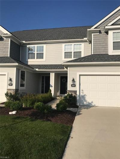 Avon Lake Condo/Townhouse Active Under Contract: 604 Aubrielle