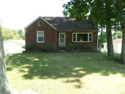 Columbiana Single Family Home Active Under Contract: 1966 State Route 7