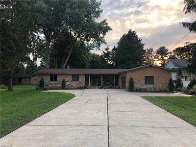 Brecksville Single Family Home Active Under Contract: 8598 Riverview Road