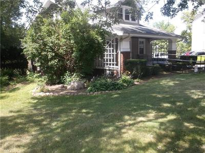 Single Family Home For Sale: 36870 Detroit Road