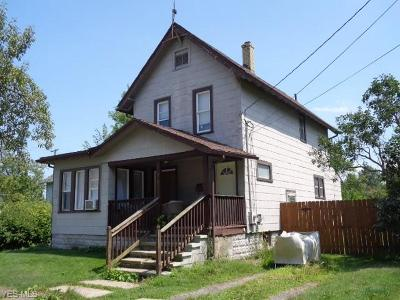 Ashtabula Single Family Home For Sale: 518 W 26th Street