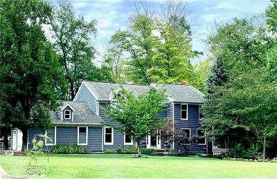 Chagrin Falls Single Family Home For Sale: 9050 Lake In The Woods Trail