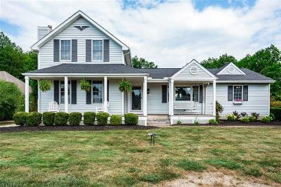 Avon Single Family Home Active Under Contract: 3981 Nagel Road