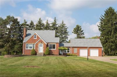 Broadview Heights Single Family Home For Sale: 5120 W Mill Road