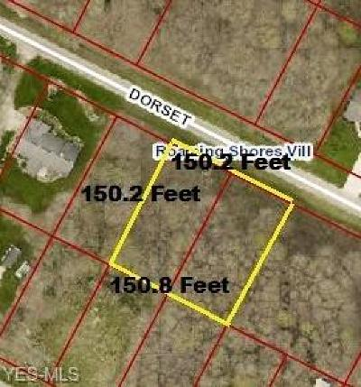 Ashtabula County Residential Lots & Land For Sale: 1726 Dorset Drive
