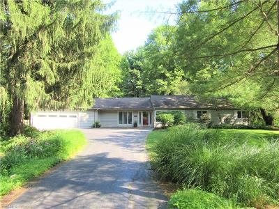 Chagrin Falls Single Family Home For Sale: 573 Solon Road