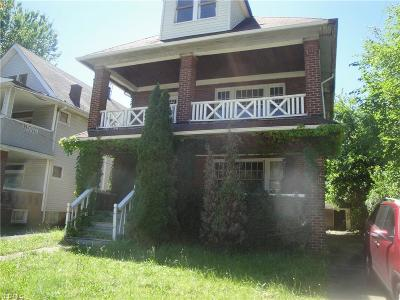 Cleveland Multi Family Home For Sale: 3804 E 123rd Street