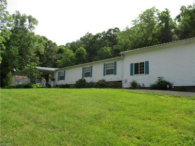 Muskingum County Single Family Home Active Under Contract: 1335 Back Run Road