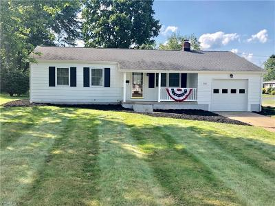 Canfield Single Family Home For Sale: 592 Janet Drive