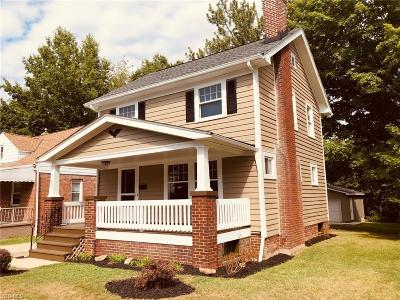 South Euclid Single Family Home For Sale: 1487 Maplegrove Road