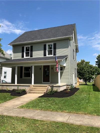 Columbiana Single Family Home For Sale: 44 E Woodland