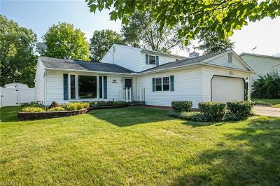 Strongsville Single Family Home For Sale: 18671 Stafford Drive