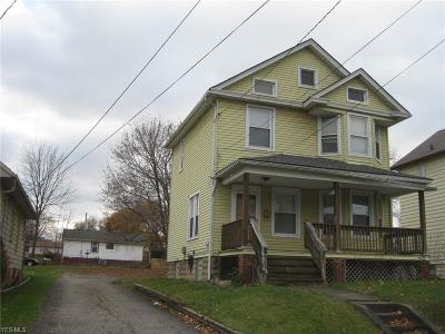 Struthers Single Family Home For Sale: 468 Lincoln Avenue