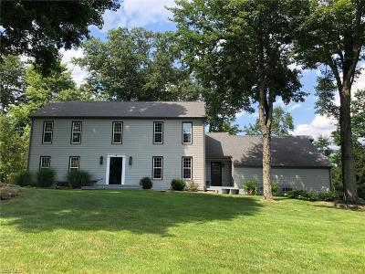 Canfield Single Family Home Active Under Contract: 3660 Fairway Drive