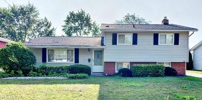 Mayfield Heights Single Family Home Active Under Contract: 1241 Golden Gate Boulevard