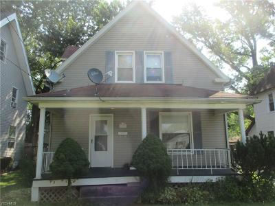 Struthers Single Family Home For Sale: 294 Poland Avenue