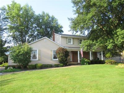 Canfield Single Family Home Active Under Contract: 442 S Briarcliff Drive