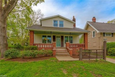 South Euclid Single Family Home For Sale: 1600 Sheridan Road