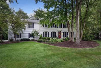 Chagrin Falls Single Family Home Active Under Contract: 99 Countryside Drive