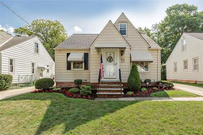 Mayfield Heights Single Family Home Active Under Contract: 1115 Mayfield Ridge Road