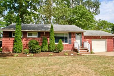 Single Family Home Active Under Contract: 6025 Porter Road