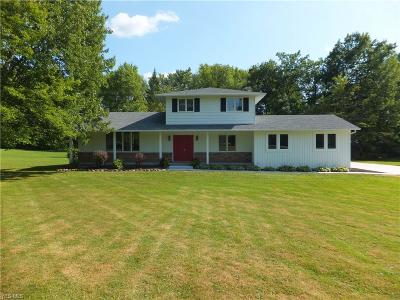 Chagrin Falls Single Family Home For Sale: 9235 Kingsley Drive