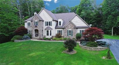 Chagrin Falls Single Family Home For Sale: 17905 Chateau Trail
