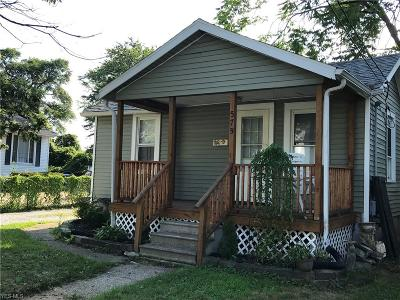 Painesville OH Single Family Home For Sale: $42,900