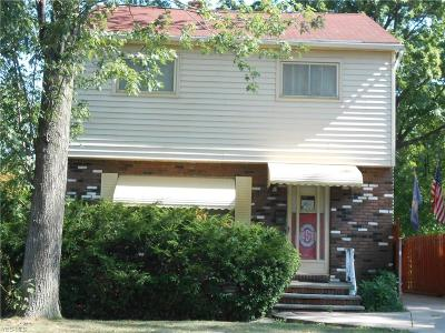 Rocky River Single Family Home For Sale: 19160 Inglewood Avenue
