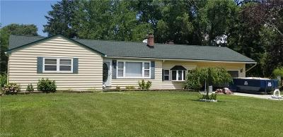 Youngstown Single Family Home For Sale: 5330 Norquest Boulevard