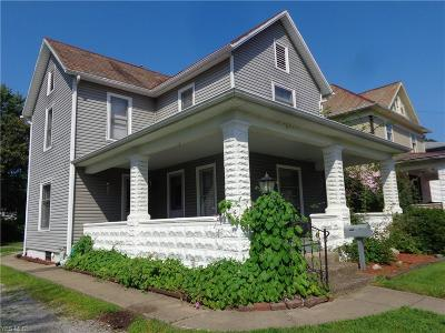 Single Family Home Active Under Contract: 1010 Tuscarawas Avenue