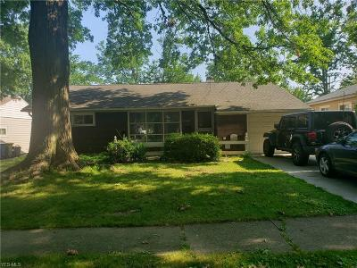 Parma Heights Single Family Home Active Under Contract: 9268 Newkirk Drive