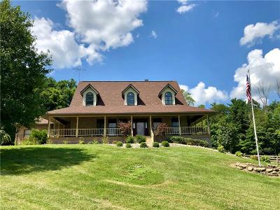 Frazeysburg Single Family Home For Sale: 7505 Shannon Valley Road