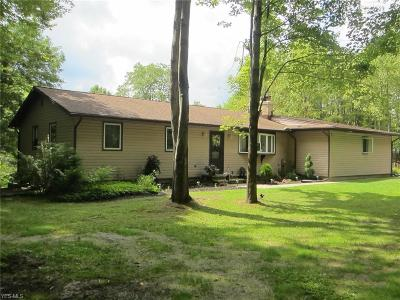 Leroy Single Family Home Active Under Contract: 12700 Carter Road