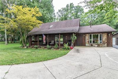 Girard Single Family Home For Sale: 1836 Pleasant Valley Road