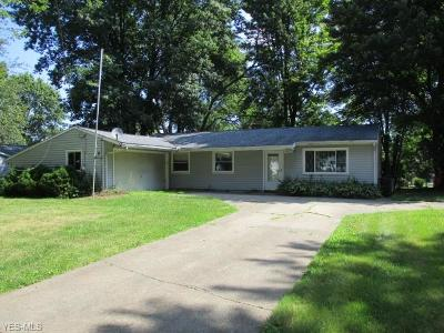 Macedonia Single Family Home For Sale: 8025 Swallow Drive