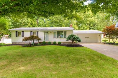 Ashtabula Single Family Home Active Under Contract: 6424 Lee Road Extension