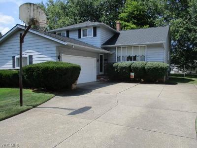 Solon Single Family Home Active Under Contract: 6584 Brookland Avenue