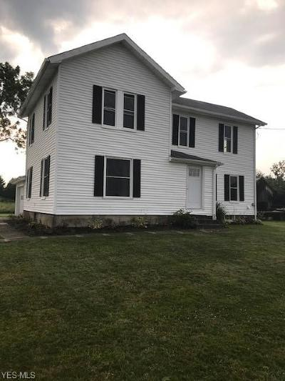 Jefferson Single Family Home For Sale: 2645 State Route 193