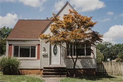 Parma Heights Single Family Home Active Under Contract: 6796 Beresford Avenue