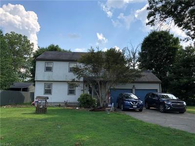 Mcdonald Single Family Home For Sale: 2266 Salt Springs Road