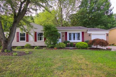 Olmsted Township Single Family Home Active Under Contract: 26925 Southwood Lane