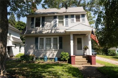Painesville OH Single Family Home For Sale: $109,722