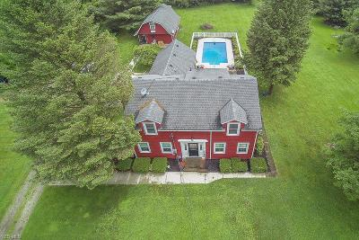 Chagrin Falls Single Family Home For Sale: 18781 Chillicothe Road